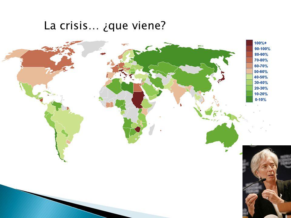La crisis… ¿que viene