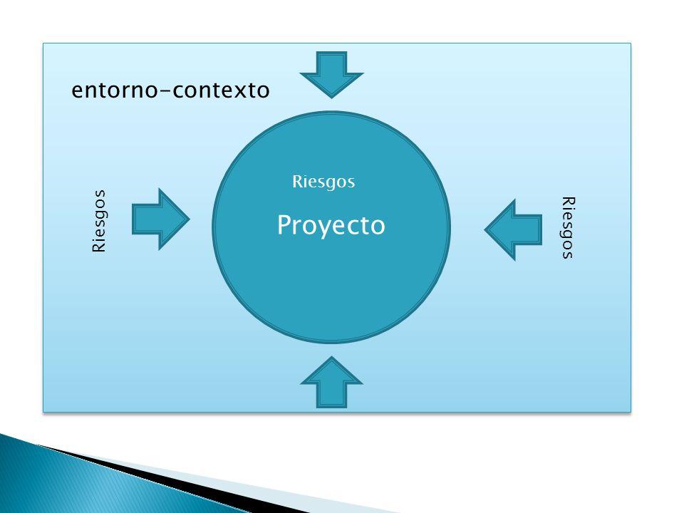 entorno-contexto Proyecto Riesgos Riesgos Riesgos