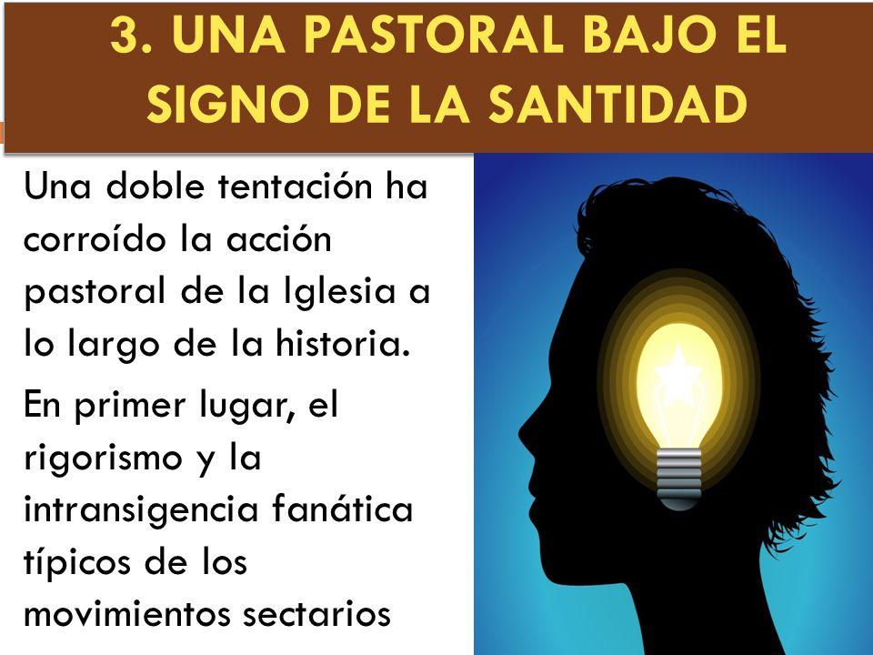 3. UNA PASTORAL BAJO EL SIGNO DE LA SANTIDAD