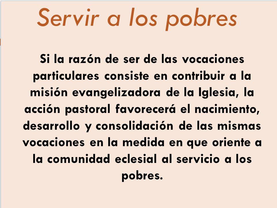 Servir a los pobres