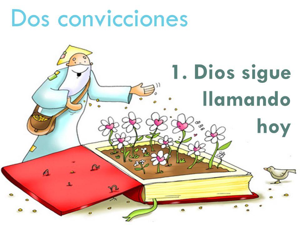 Dos convicciones 1. Dios sigue llamando hoy