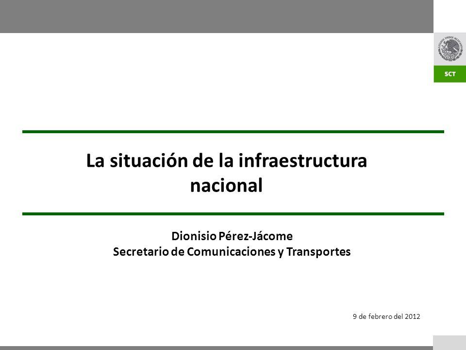 La situación de la infraestructura nacional