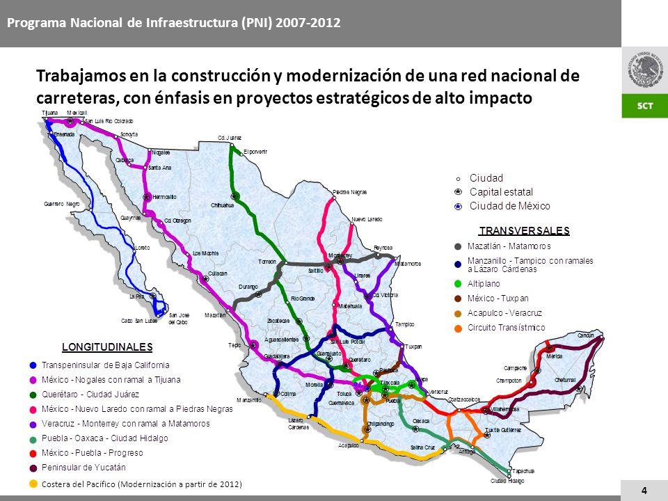 Programa Nacional de Infraestructura (PNI) 2007-2012