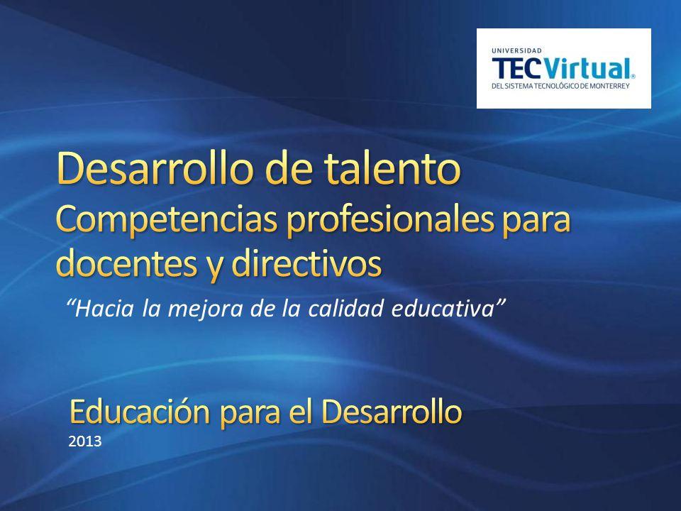 Educación para el Desarrollo 2013