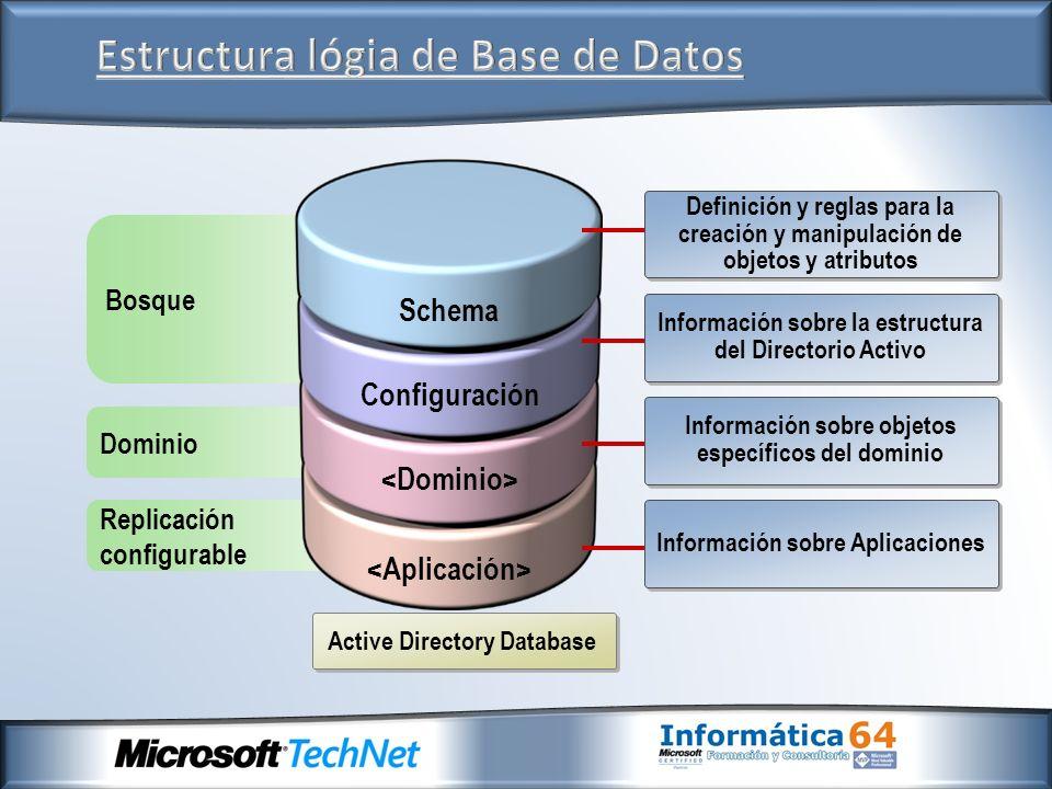 Estructura lógia de Base de Datos