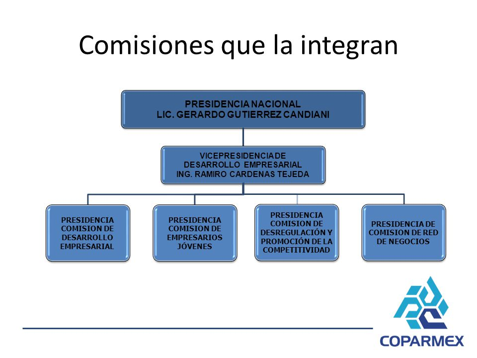 Comisiones que la integran