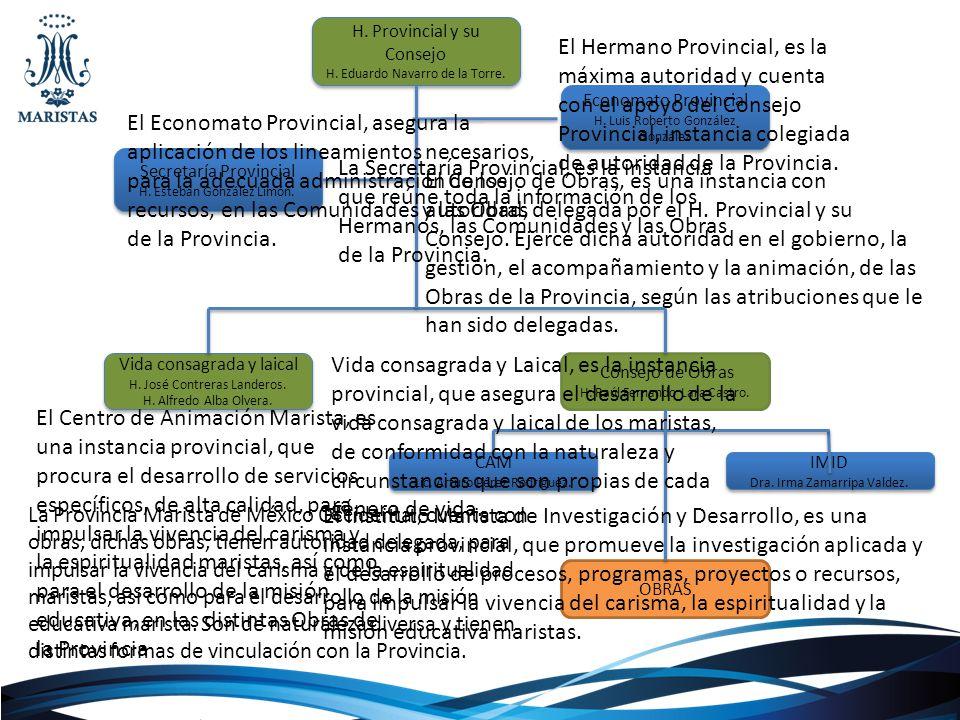 H. Provincial y su Consejo