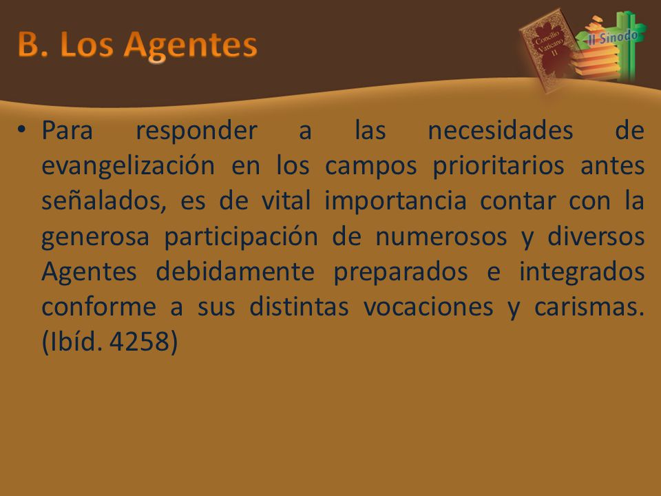 B. Los Agentes
