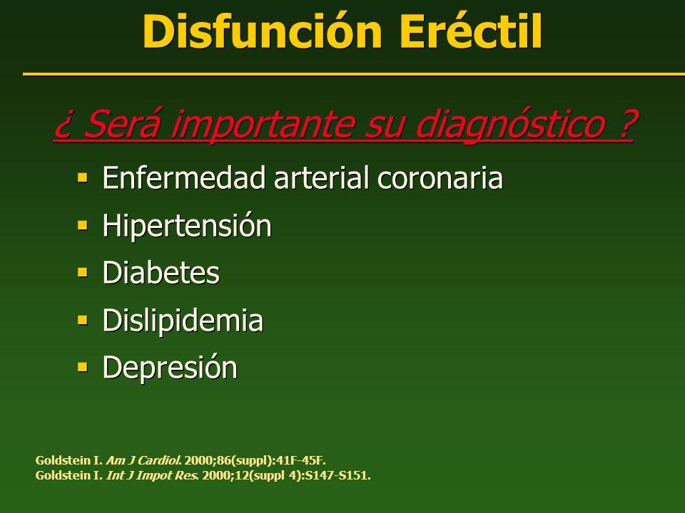 ¿ Será importante su diagnóstico