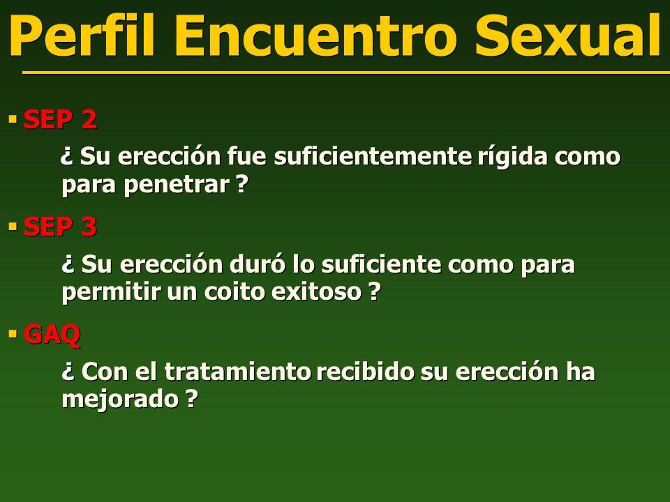 Perfil Encuentro Sexual