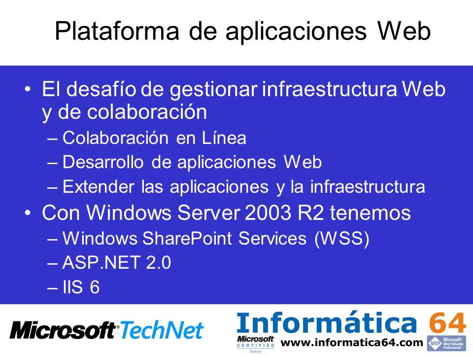 Plataforma de aplicaciones Web