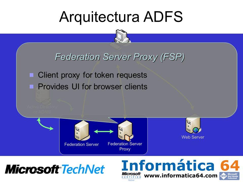 Federation Server Proxy (FSP)