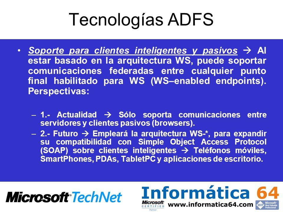 Tecnologías ADFS