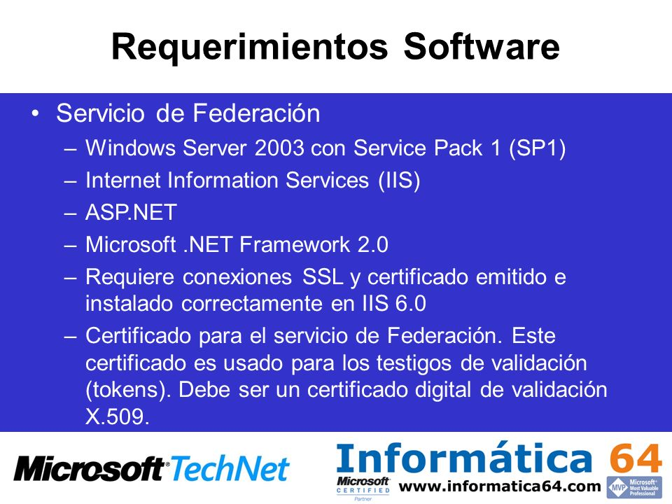 Requerimientos Software