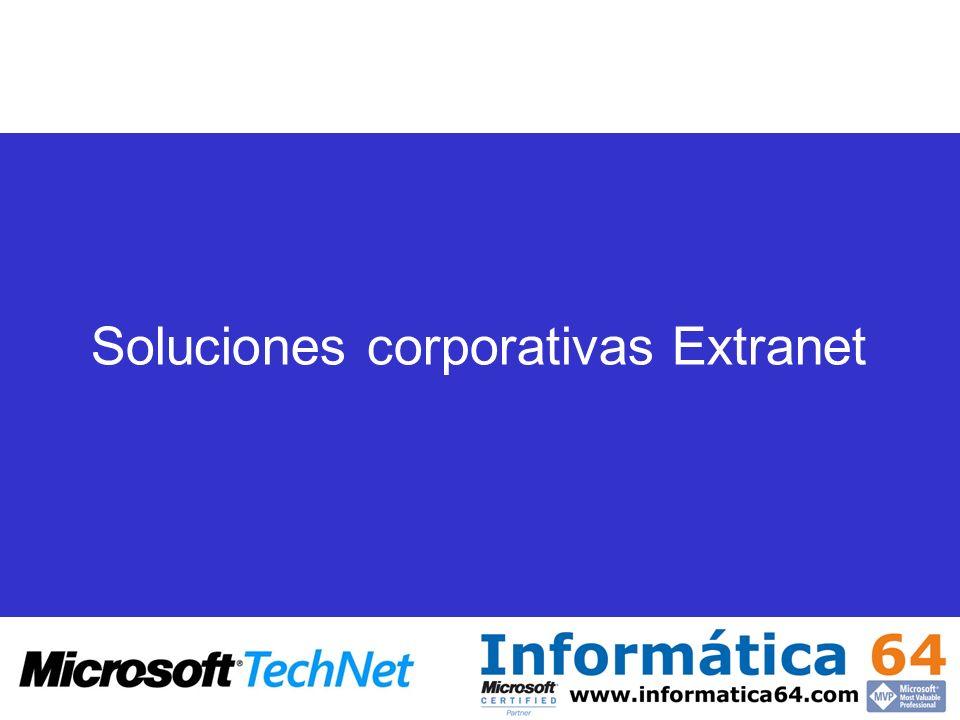Soluciones corporativas Extranet