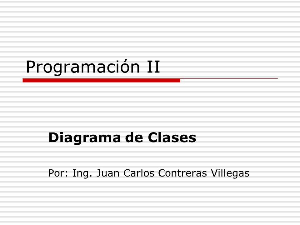 Diagrama de Clases Por: Ing. Juan Carlos Contreras Villegas