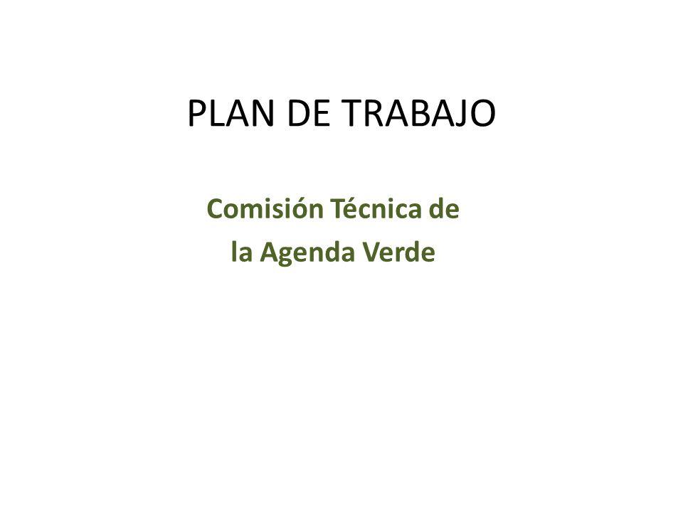 Comisión Técnica de la Agenda Verde