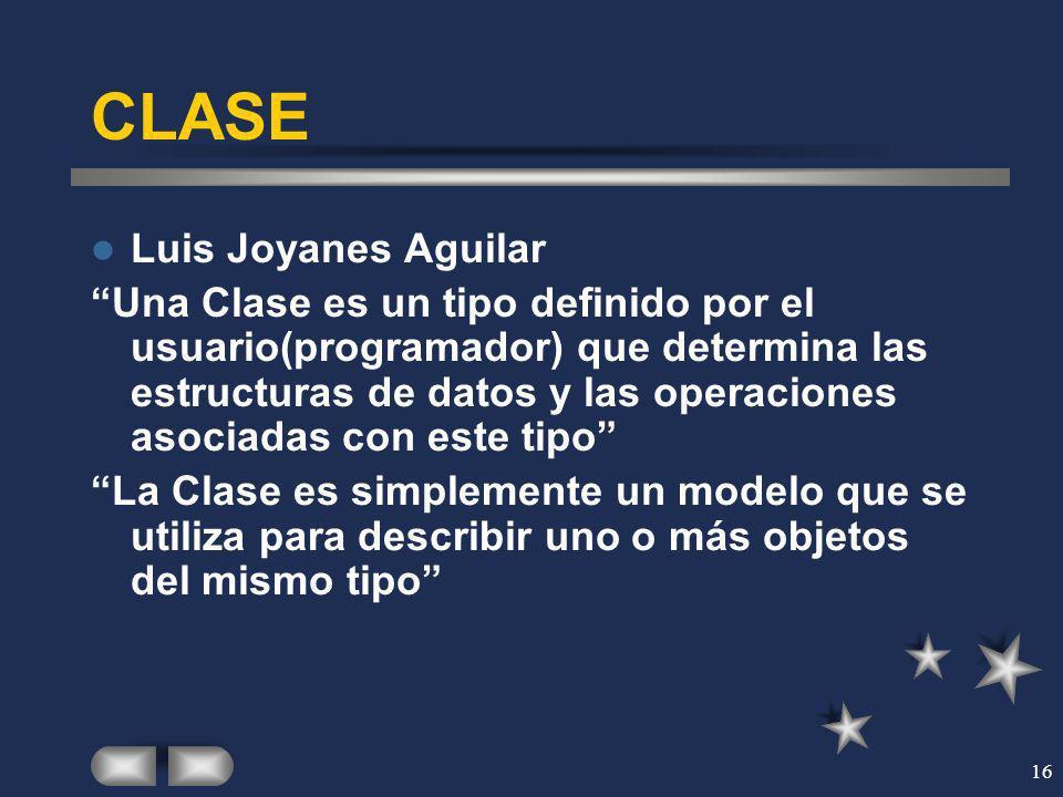 CLASE Luis Joyanes Aguilar