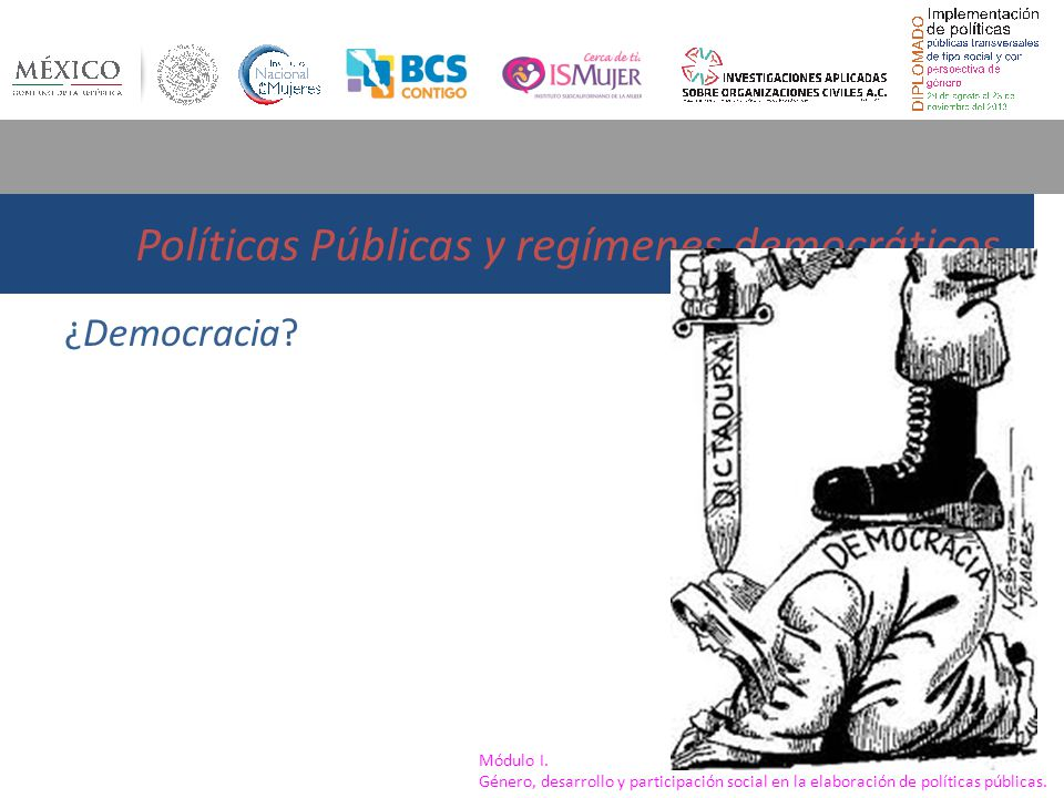 Políticas Públicas y regímenes democráticos