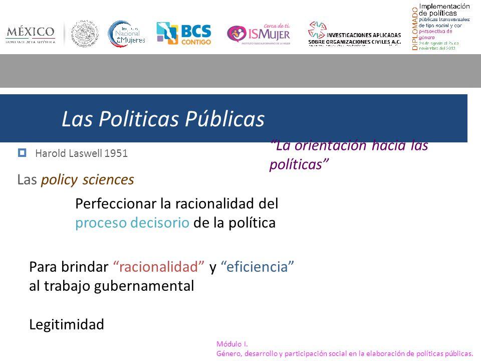 Las Politicas Públicas