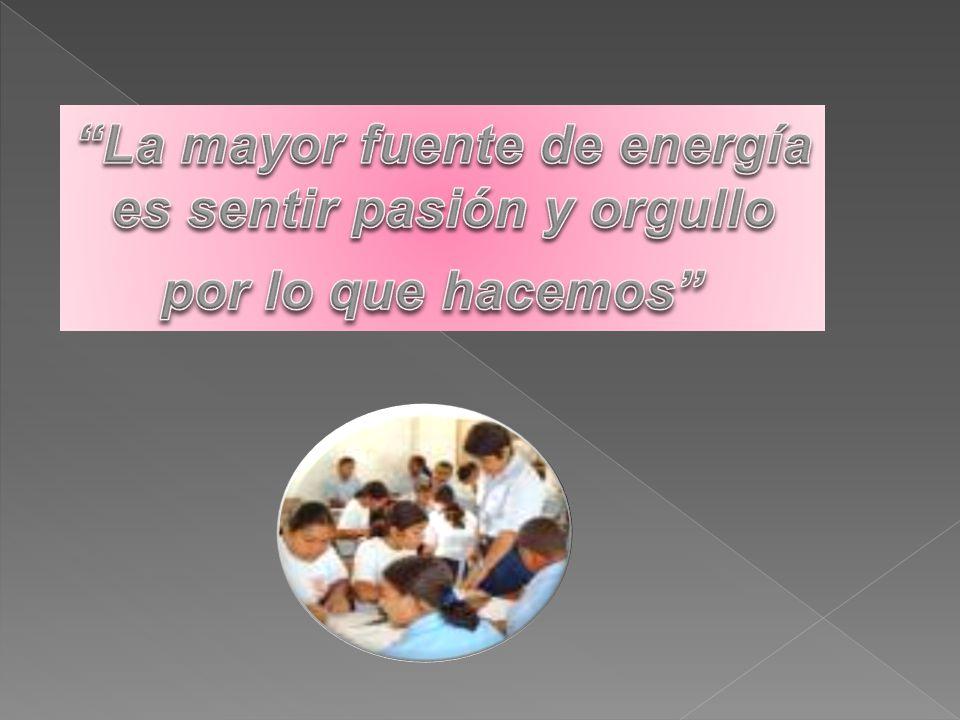 La mayor fuente de energía es sentir pasión y orgullo
