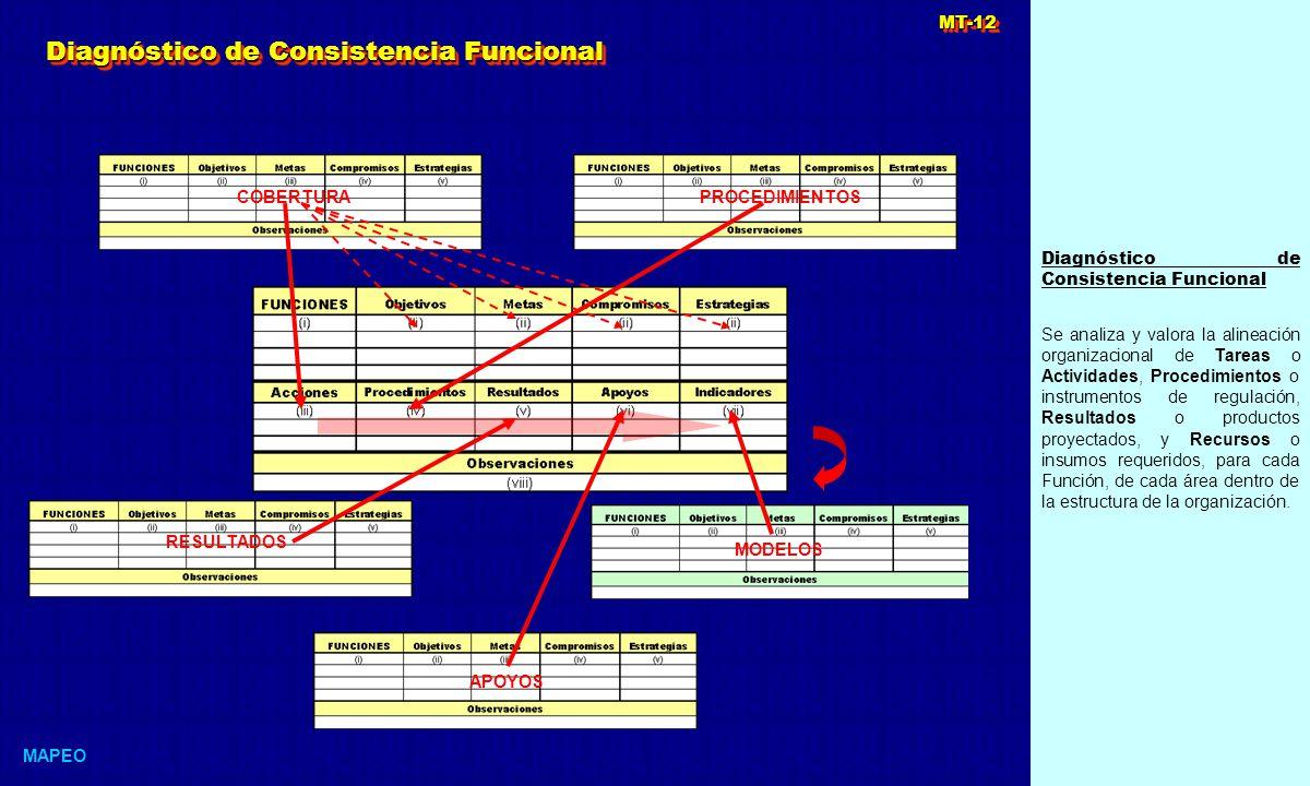 Diagnóstico de Consistencia Funcional