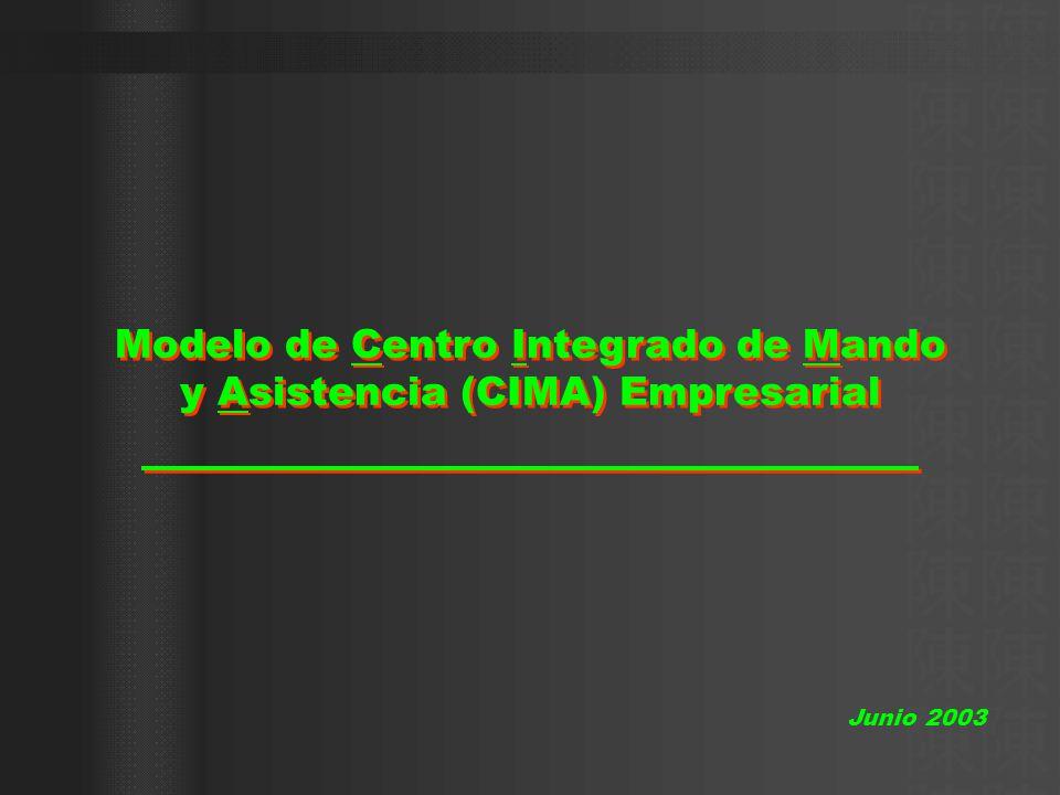 Modelo de Centro Integrado de Mando y Asistencia (CIMA) Empresarial