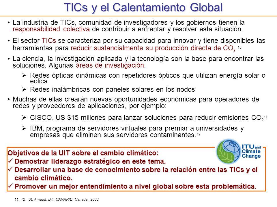 TICs y el Calentamiento Global