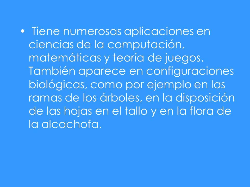 Tiene numerosas aplicaciones en ciencias de la computación, matemáticas y teoría de juegos.