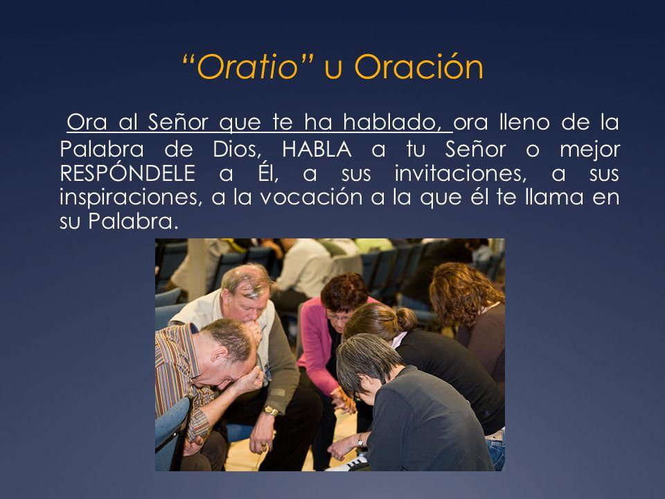 Oratio u Oración