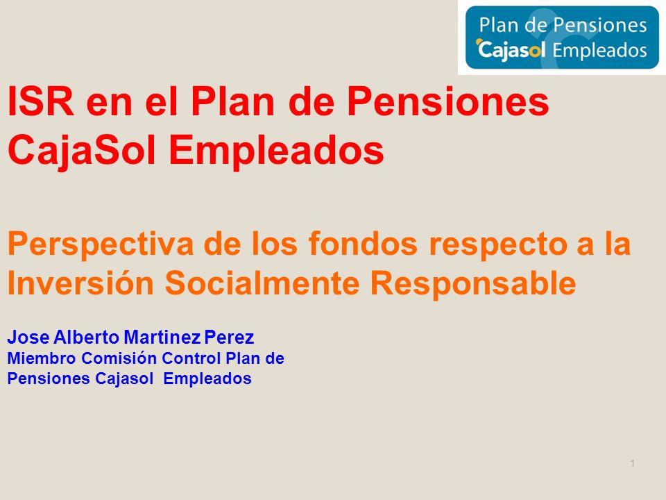 ISR en el Plan de Pensiones CajaSol Empleados