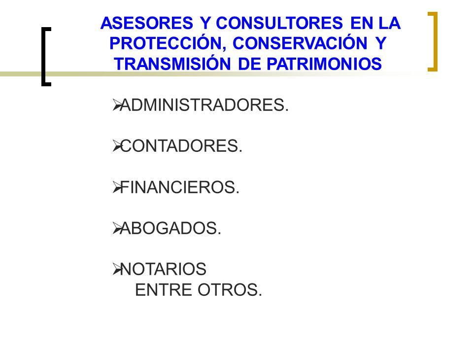 TRANSMISIÓN DE PATRIMONIOS