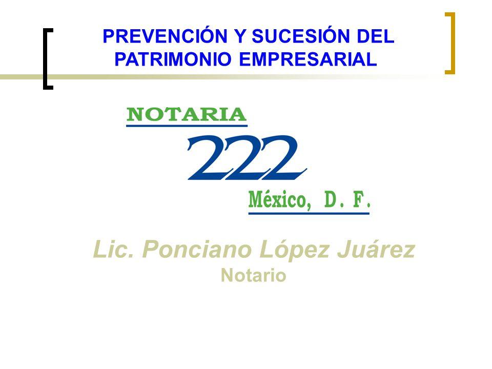 Lic. Ponciano López Juárez