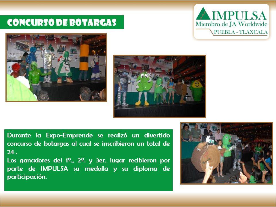 Concurso de botargas Durante la Expo-Emprende se realizó un divertido concurso de botargas al cual se inscribieron un total de 24 .