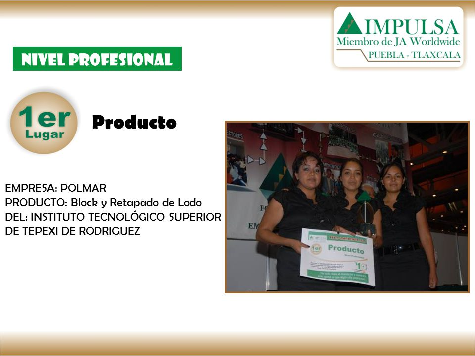 Producto Nivel Profesional EMPRESA: POLMAR