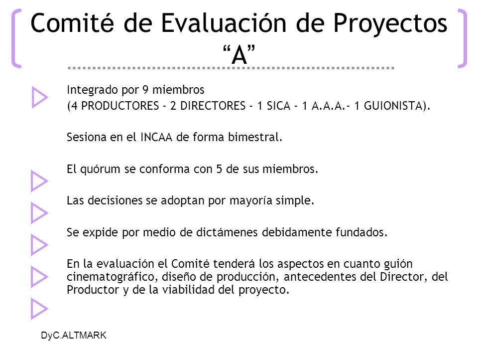 Comité de Evaluación de Proyectos A