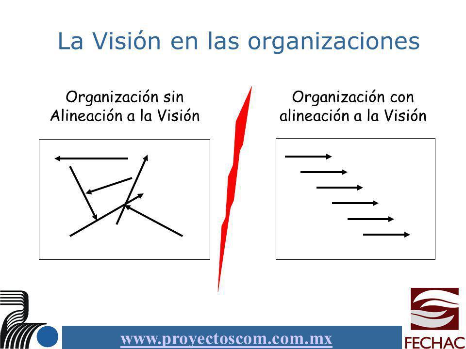 La Visión en las organizaciones