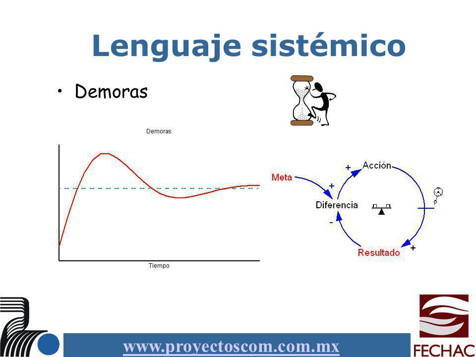 Lenguaje sistémico Demoras