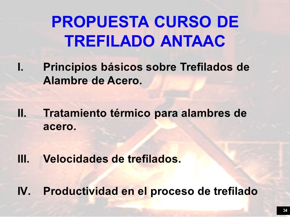 PROPUESTA CURSO DE TREFILADO ANTAAC