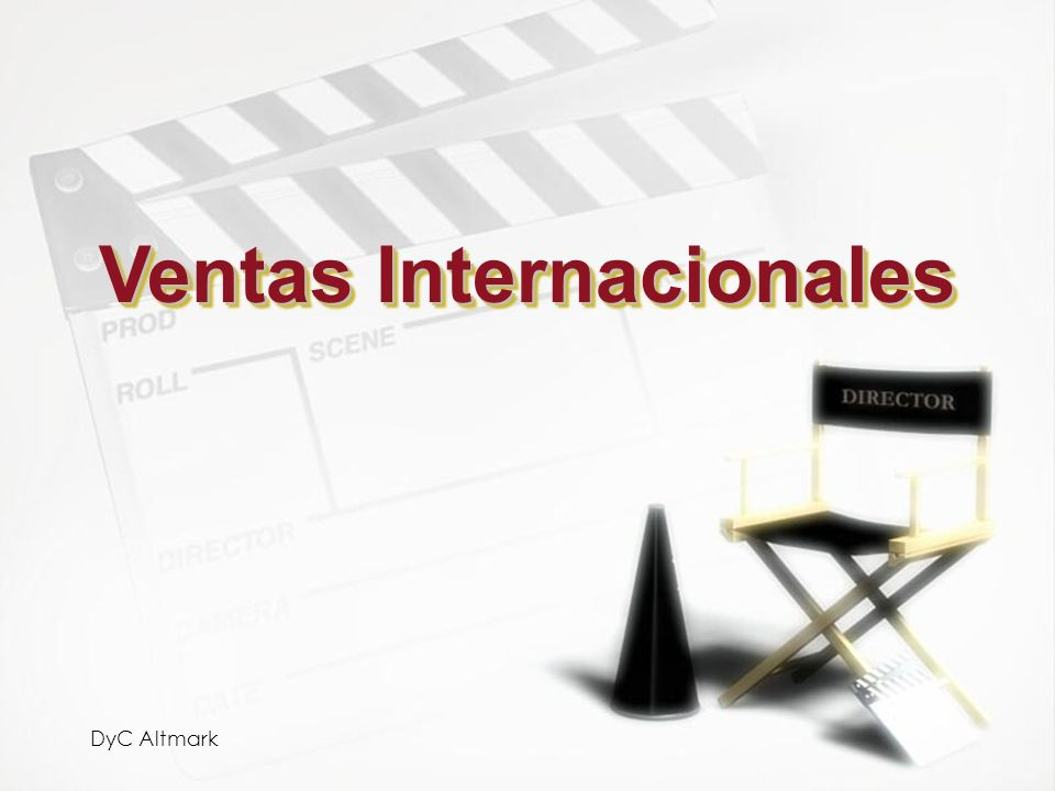 Ventas Internacionales
