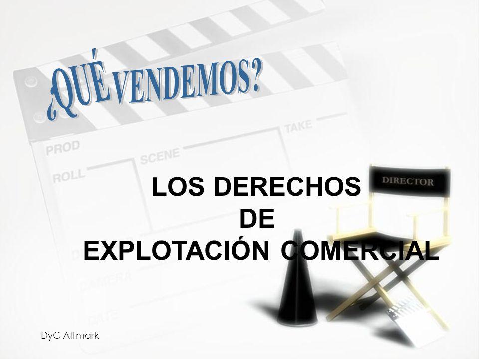 EXPLOTACIÓN COMERCIAL