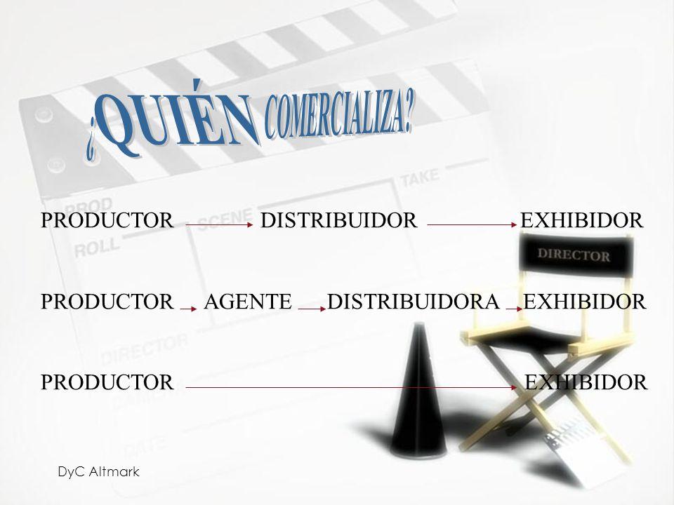 QUIÉN ¿ COMERCIALIZA PRODUCTOR DISTRIBUIDOR EXHIBIDOR