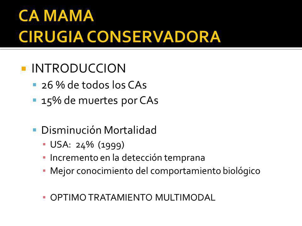 CA MAMA CIRUGIA CONSERVADORA
