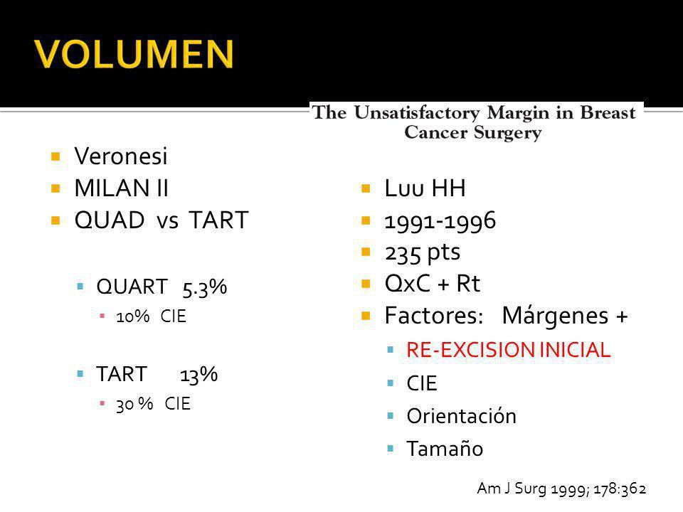VOLUMEN Veronesi MILAN II QUAD vs TART Luu HH 1991-1996 235 pts