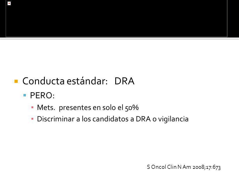 Conducta estándar: DRA