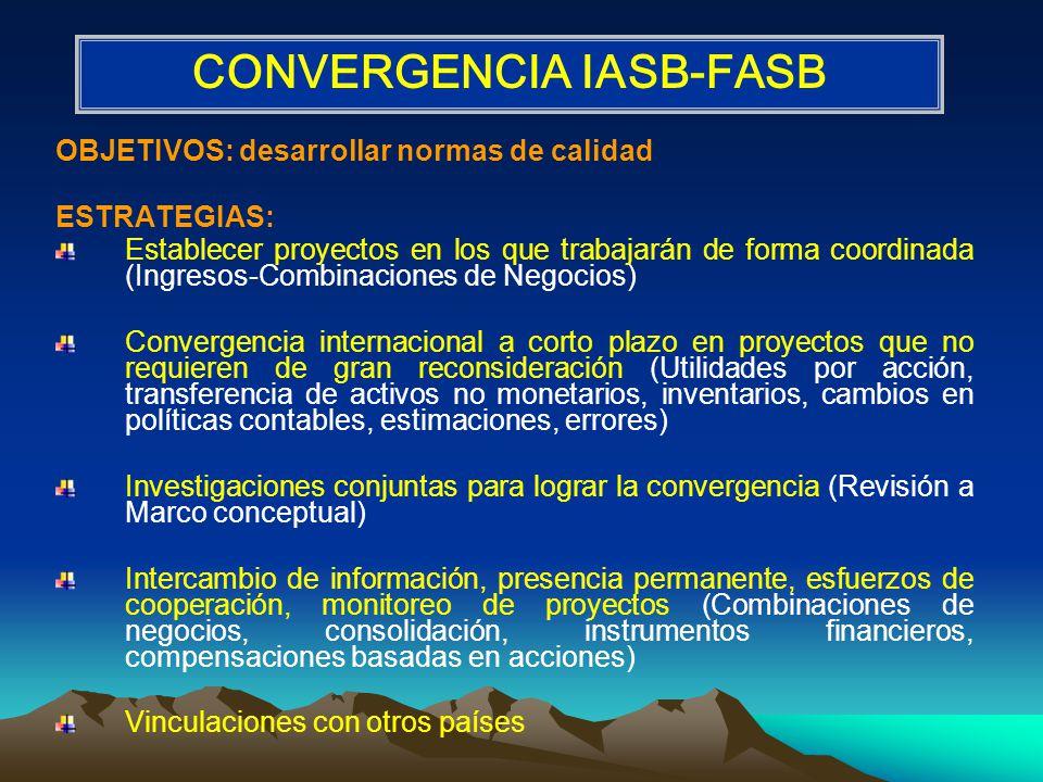 CONVERGENCIA IASB-FASB