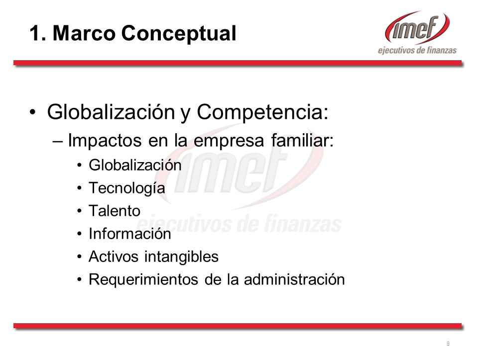 Globalización y Competencia: