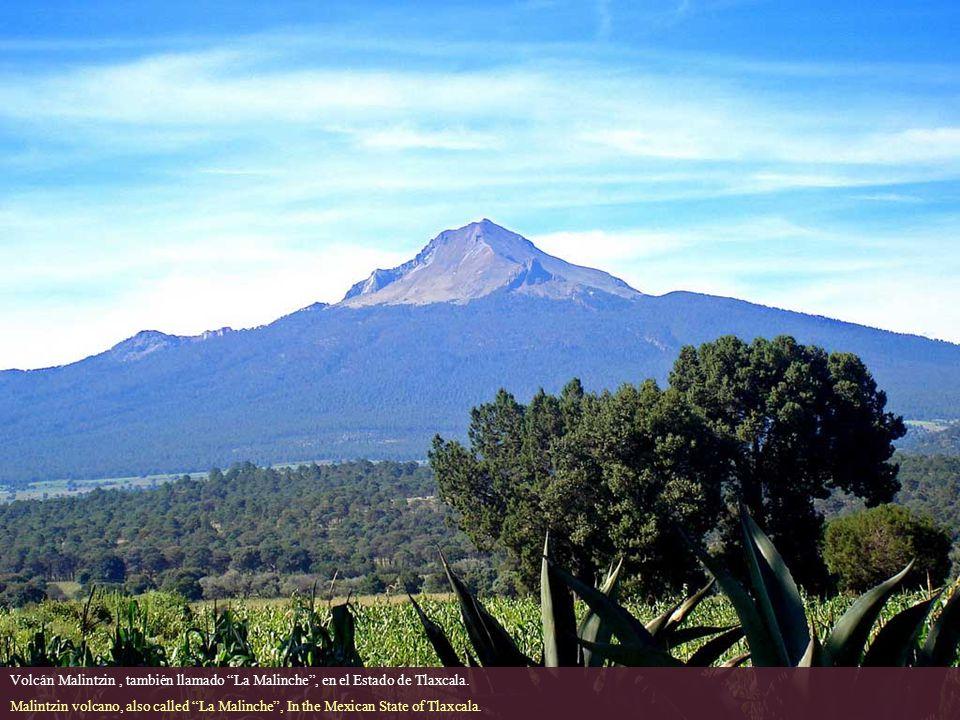 Volcán Malintzin , también llamado La Malinche , en el Estado de Tlaxcala.