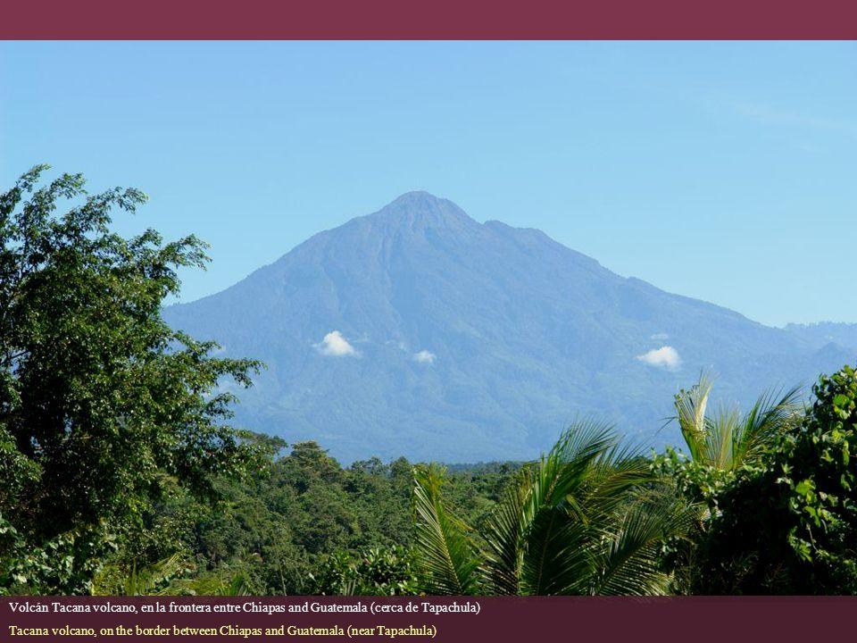 Volcán Tacana volcano, en la frontera entre Chiapas and Guatemala (cerca de Tapachula)