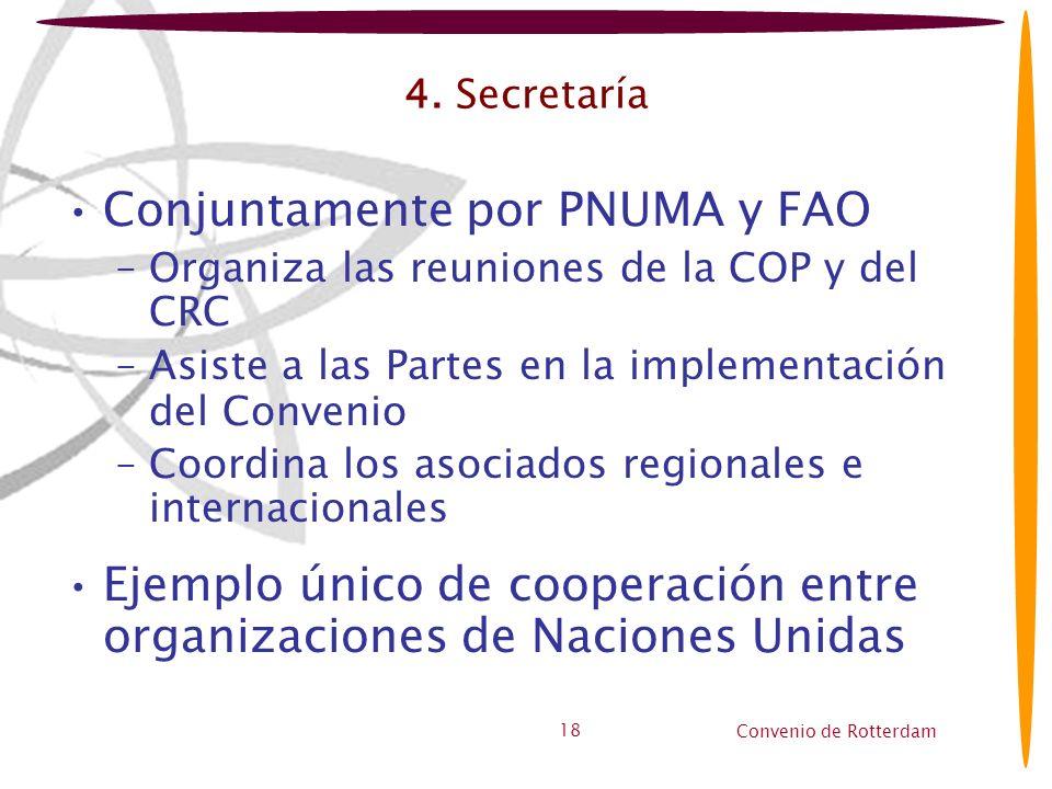 Conjuntamente por PNUMA y FAO
